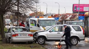 2 osoby ranne na Ciszewskiego