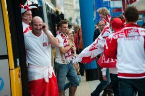 Na mecz Rosja - Grecja tramwajem lub autobusem