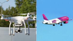 Kto latał dronami nad Okęciem? Policja szuka sprawców