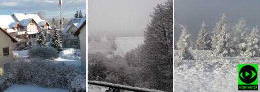 W niektórych rejonach Polski zrobiło się biało