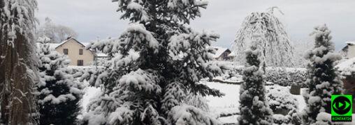 Na Śnieżce odczuwalny prawie 30-stopniowy mróz. Wtorek przywitał Was zimową aurą