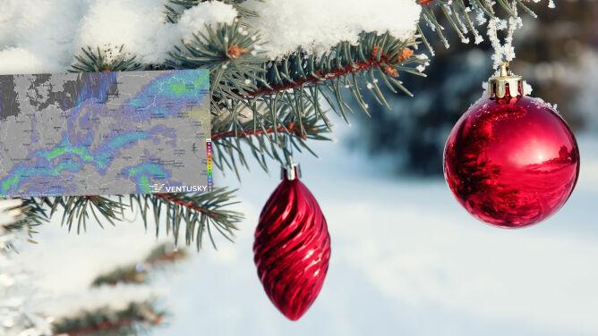 Pogoda na Boże Narodzenie. Gdzie w święta spadnie śnieg