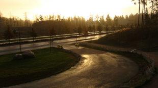 Nocą drogi miejscami będą mokre od deszczu