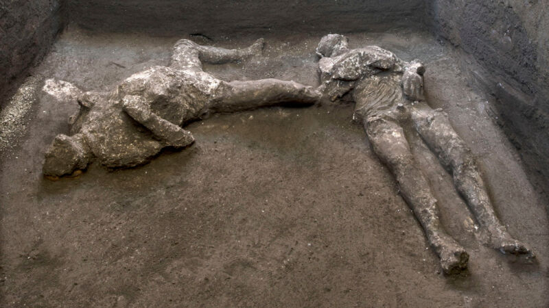 Odkrycie w Pompejach (PAP/EPA/Luigi Spina /Parco Archeologico / HANDOUT)
