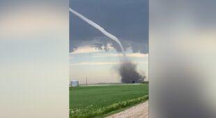 Gigantyczne tornado w Kanadzie